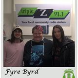 Interview with Fyre Byrd on The Local - SA - 31 May 2018
