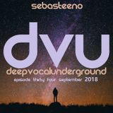 DEEP VOCAL UNDERGROUND V34 - 'I Just Love This Kinda House!'