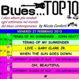 BLUES TOP 10 - Venerdi 27 Febbraio 2015 (cluster 5)