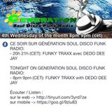DeDo Dee jay GenerationSoul Disco Funk  FUNKY TRAXX #47