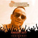 Wietze Young live @ Club Hemingway Kingsday 2017 Techno - Hard Techno