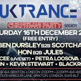 Dvalin Live @ UKTS Christmas Party, 414 Brixton 16/12/17