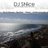 DJ SNice - Taste of Tech House, Techno, Deep and Underground 2017