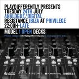 Matador @ Resistance  Privilege, Ibiza.PLAYdifferently Presents ANALOGUE/DIGITAL 28-07-2018