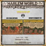 1981 - Cold Crush Brothers VS Fantastic Romantic Five - Live @ Harlem World July 3rd 1981 - A.T.M.S.