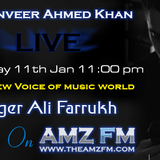 Exclusive Interview of Singer Ali Farrukh on AMZFM - 11th January 2014
