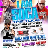 ATLANTA CARNIVAL I AM SOCA Tour PROMO 1