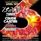Shaddex Live at Vulgar 3 Year Anniversary