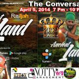 The Conversation With Icebox International  & Ras-ijah Eternalfyah Live on Zionhighness Radio