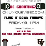 DC GOODTINGZ FLING IT DOWN FRIDAY 22ND JULY 2016