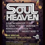 RiskSoundSystem - SOUL HEAVEN ADE 2012 promo set on Radio Decibel - live recording