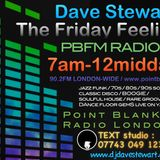 Dave Stewart 9/12/2016 'THE FRIDAY FEELING' LIVE RADIO SHOW POINT BLANK FM LONDON UK  ... d(-_-)b