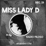 RADIO FILOSO 018 // MISS LADY D
