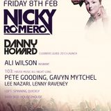 Danny Howard - Live @ The Gallery, Ministry of Sound (London) - 08.02.2013