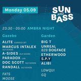 Big T @ Ambra Night - Sun and Bass 05/09/2016 - Warm Up set