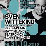 Der Captain @ Klangfabrik 31-10-2012