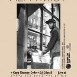 DJ Giles B warmin' in for Alpha Mist at Soup Kitchen 29/11/17