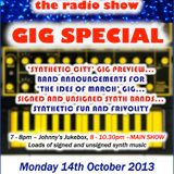 THE JOHNNY NORMAL RADIO SHOW 22 - MON 14TH OCTOBER 2013