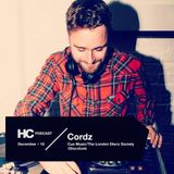 House Cartel December 2018 Podcast Guest Mix: Cordz (Cue Music/The London Disco Society/Discofunk)