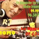 Soiree avec DJ Momo l'invite de radio jeunes tunis suivis par DJMC moez le 07-04-2019