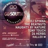 Dj Spinna LIVE @ Hotshot (Go South Weekender) March 13th