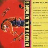 DJ Mad A.K.A. DJ Demo - Studio Mix Volume 8 1993.
