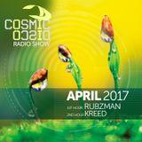 COSMIC DISCO RADIOSHOW - APRIL 2017