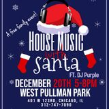 DJ Purple Live at West Pullman Park [House Music With Santa]