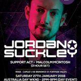 Malcolm DJ - Jordan Suckley Warmup 3 hour set-  Jan 2018 - NuBreed Events