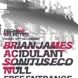 Sonitus Eco @ techno Selected 11/12/15