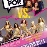We<3Pop Club Spice Girls VS Girls Aloud: LIVE SET