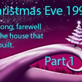 """Saying """"Good-bye"""" to the house (The Generator) that Tyrone Mixx built!  Christmas Eve 1995 early eve"""