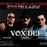 Entrevista a Willy Quiroga de Vox Dei