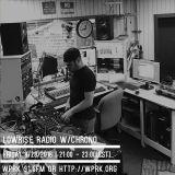LowRise Radio w/CHRONO 09/23/2016