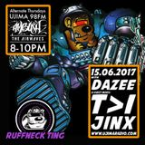 The Ruffneck Ting Takeover With DJ Dazee & Guests T>I And Jinx 15th June 2017