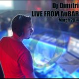Dj Dimitri Live from AuBAR March 2014