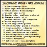 DJ Mac Cummings Worship N Praise Mix Volume 2