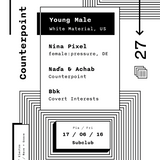 Young Male / Counterpoint 27, 17.6.2016