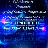 Spring Session Progressive Uplifting Trance (Mixed By DJ Absloute)