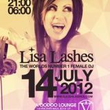 Vic Light Live @ 1 Night Only Presents Lisa Lashes, Live Lounge, Southampton (14-07-2012)