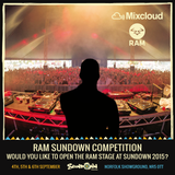 RAM Sundown DJ Competition ST FLINE