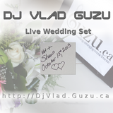 DJ Vlad Guzu - Live Wedding Set (Kat & Shaun 2013 10 13) part 1
