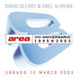 AREA - 8º ANIVERSARIO by David Oleart & Abel Almena