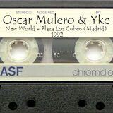 "Oscar Mulero & Yke - Live @ New World, Plz. Cubos, Madrid (1992) Cassette INEDITO ""Ripped: Zitro ZTR"