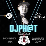 Numbers Monthly Mix January