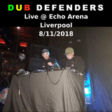 Dub Defenders Live Set From The Prodigy Support @ Echo Arena 8/11/2018