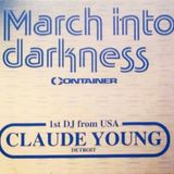 Claude Young @ March Into Darkness - Gerberei Schwerin - 24.11.1995
