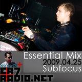 Sub Focus Live @ Essential Mix 2009-04-25