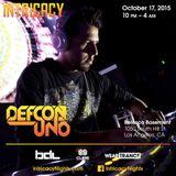 Defcon Uno Live @ Intricacy 10-17-2015