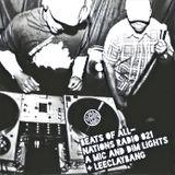 Beats of All-Nations Radio Ep. 021:  A Mic and Dimlights + Leeclaybang